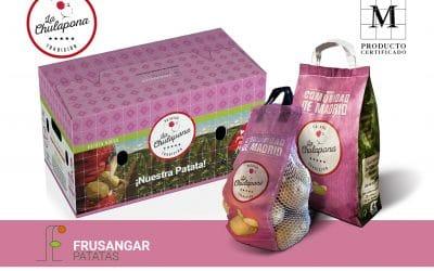 Frusangar impulsa la agricultura regional sostenible con su patata La Chulapona, exclusivamente cultivada y certificada en Madrid.
